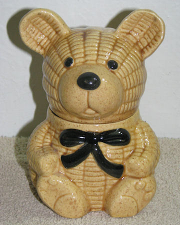 Darling Ceramic Honey Bear Honey Pot Jar