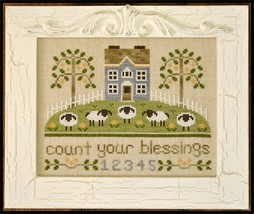 Count Your Blessings cross stitch chart Country Cottage Needleworks - $7.20