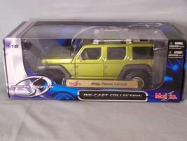 Jeep Rescue Concept 1:18 scale diecast Maisto Special Edition - $38.22