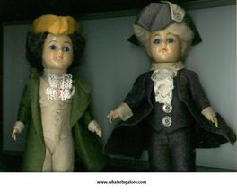 REVOLUTIONARY WAR dolls 1776 - $10.00