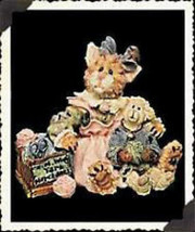 """Boyds Purrstone """"Clawdette Fuzzface & Wuly-Yarn Merchants"""" #371002- 1E- NIB - $10.99"""