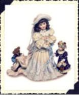 """Boyds Bears*Dollstone""""Emily w/Kathleen & Otis.the Future""""#3508 NEW*1995*... - $12.99"""
