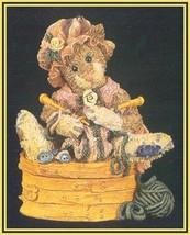 "Boyds Bearstone""Cookie Catberg.. Knitten Kitten"" - #2250- NIB- 1995-  Retired image 2"