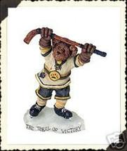 "Boyds Bearstone ""Blade Hattrick...He Shoots, He Scores"" #228357-NIB -2001 - $23.99"