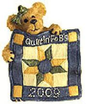 """Boyds Bear""""Rosella Quiltenfriend"""" Quiltin FoB's BearWear Pin- #02009*11-... - $12.99"""