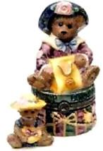 """Boyds Le Bearmoge- Porcelain Box """"Grace & Rita..Born to Shop""""#392024-NIB... - $29.99"""