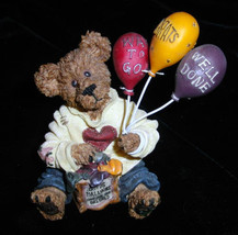 "*Boyds Bearstone* ""Goodfer U. Bear...Way to Go!""  #227729 -NIB- Retired image 2"