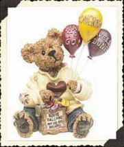 "*Boyds Bearstone* ""Goodfer U. Bear...Way to Go!""  #227729 -NIB- Retired image 1"