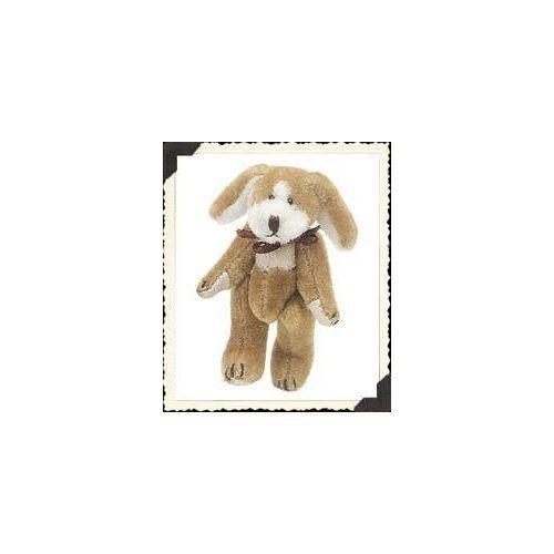 """Boyds Bearwear """"Tucker F Wuzzie""""  2"""" Plush Wuzzie Dog Pin - #599902-08 -NEW-1999"""