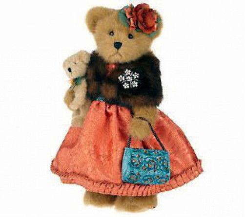 "Boyds Bears ""Lady Wellington""  16"" Bear- #4015928- NWT- 2009-Retired image 2"