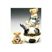 "Boyds Bears*LeBearmoge*Porcelain Box""Rocky..Score,Score"" #392020*New*1E*... - $18.99"