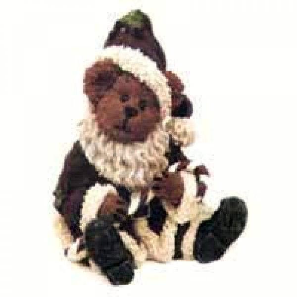 """Boyds Bearstone""""Nickleby"""" Ornament* #25732- 1E- NIB- 2000- Retired"""