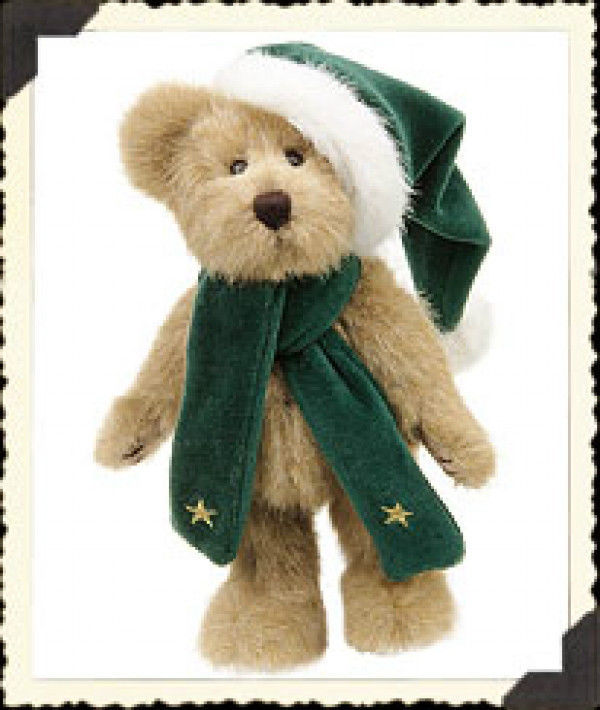 "Boyds Bears""C. Z. Comet"" 8 Plush Bear-  style #917308- NWT- 2000- Retired"