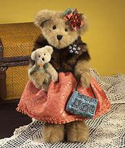 "Boyds Bears ""Lady Wellington""  16"" Bear- #4015928- NWT- 2009-Retired image 3"