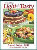 Taste of Home Light & Tasty Annual Recipes 2004 - $8.99