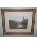 Large Art Nouveau Flowered Framed Photo by Sawyer - $189.00