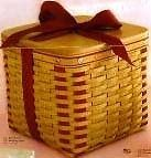 Longaberger 2002 Large Sweetest Gift Sweetheart Basket Plastic Protector Only