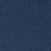 Longaberger Small Canister Basket Blue Denim Fabric Over Edge Liner New ... - $10.65