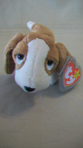 TRACKER BASSET HOUND BEANIE BABY, DOB 6/5/1997 WITH ERROR TAG - $6.92