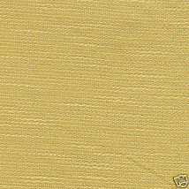 "Longaberger 9"" Measuring Basket Butternut Yellow Fabric Over Edge Liner New image 1"