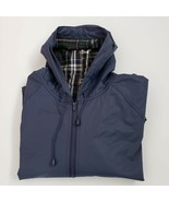 Harbor Master Rain Coat Men's 4XL Plaid Cotton Lining Full Zip Front  RN 51207 - $39.00