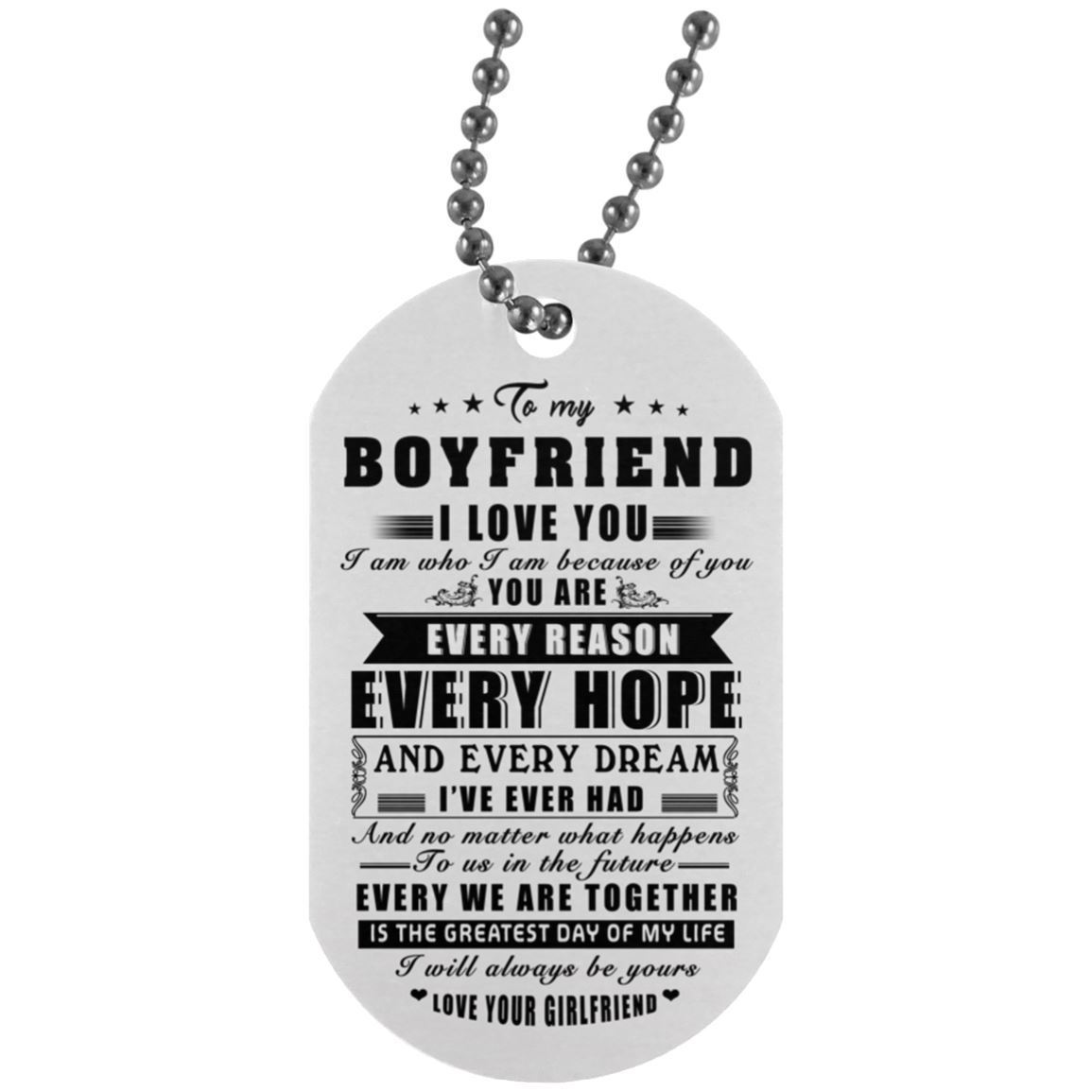 silver male and men boyfriend gift jewelry fo necklace product husband present hugerect wife