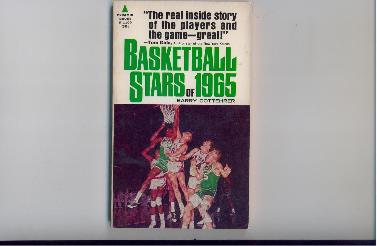 BASKETBALL STARS OF 1965 - paperback original - SCARCE