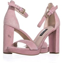 Nine West Dempsey Ankle Strap Dress Sandals 332, Light Pink, 5.5 US - $23.99