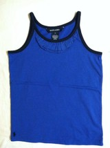 RALPH LAUREN GIRLS NEW BLUE 100%COTTON SLEEVELESS TOP SIZE 6 - $27.12