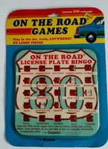 """Vintage Collectable 1986 """"On The Road"""" Bingo Game Route 80. New Sealed! - $11.30"""