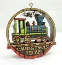 "Hallmark Ornament 1976 ""Nostalgia Locomotive""  - $8.91"