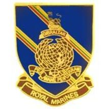 "British Royal Marines Foreign Badge Pin Large (1"")  - $9.99"