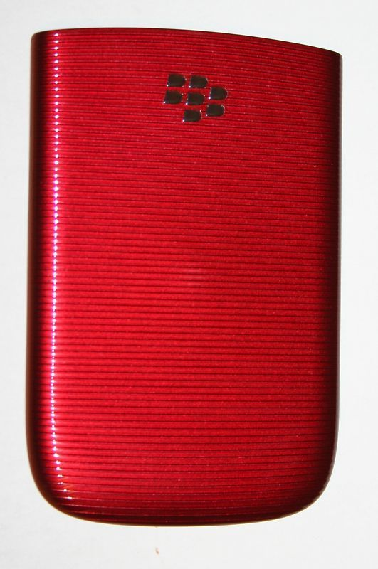 OEM Blackberry Torch 9800 Back Cover Battery Door RED