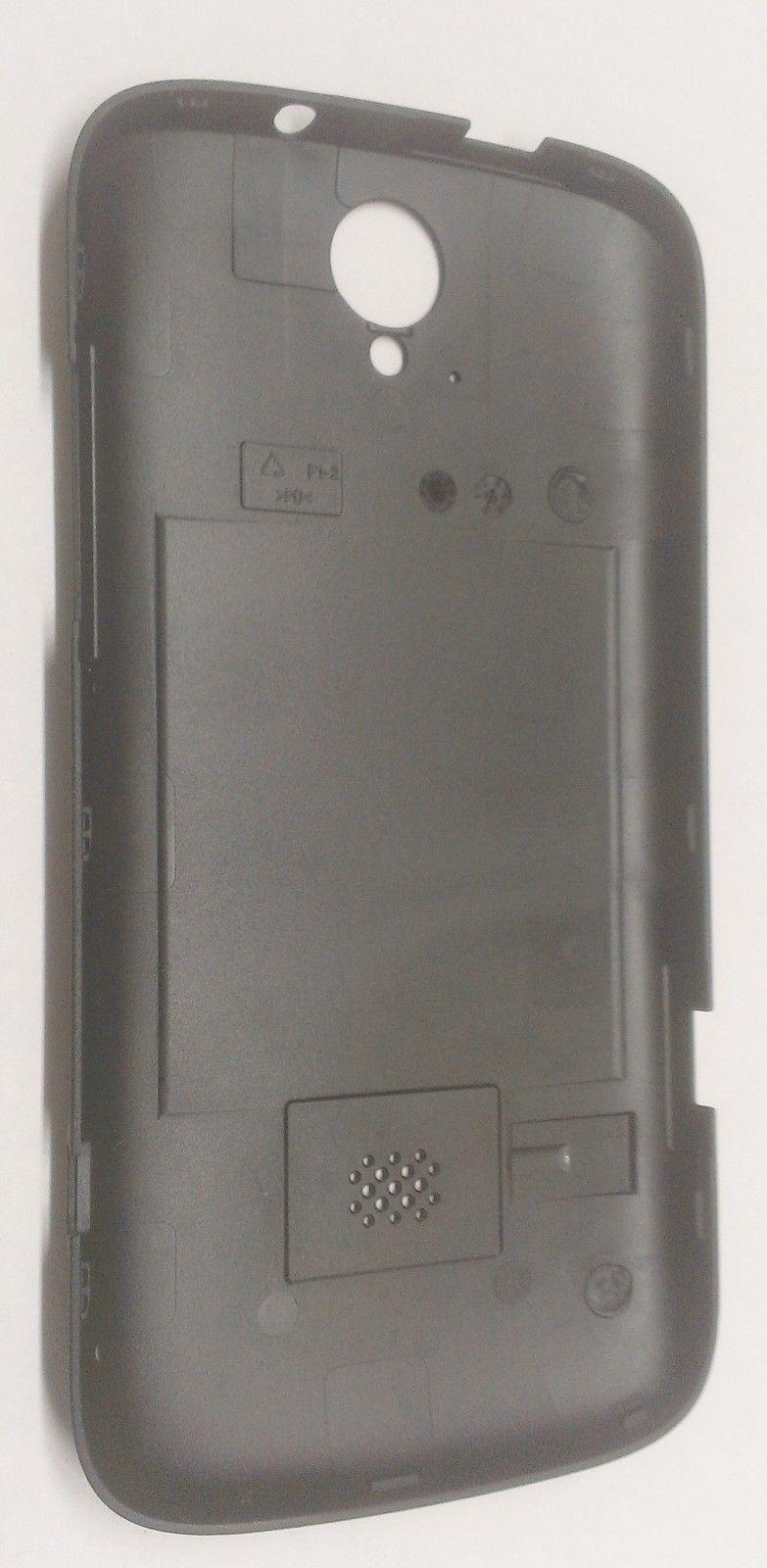 OEM Original Huawei myTouch Q  Back Cover Battery Door T-Mobile U8730 - Black image 2