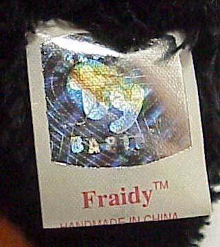 FRAIDY - Beanie Halloween Cat