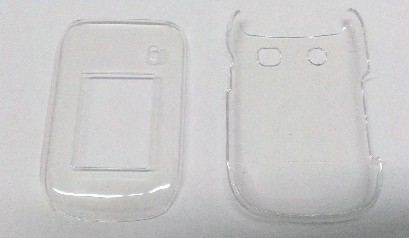 New Hard Shell Case Cover Clear for the Blackberry Style 9670