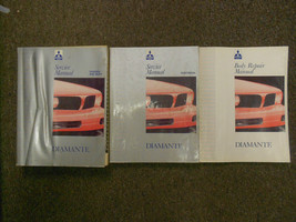 1992 MITSUBISHI Diamante Service Repair Shop Manual SET OEM 92 FACTORY D... - $118.79