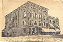 Hales Opera House Towanda Bradford County Pennsylvania 1906 Post Card - $10.00