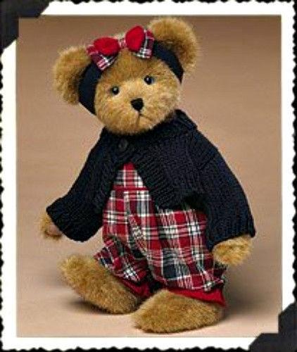 "Boyds Bears ""Bobbi Jo Bearican""  12"" Americana Bear- #904252- NWT- 2004-Retired"