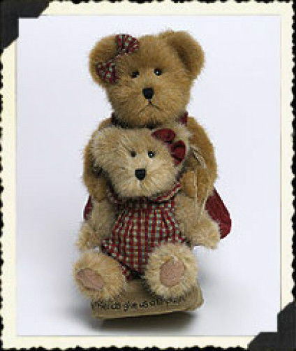 "Boyds Bears ""Alexandra & Jessica Beary Friends""#919843CA -LE-NWT-2003-Retired"
