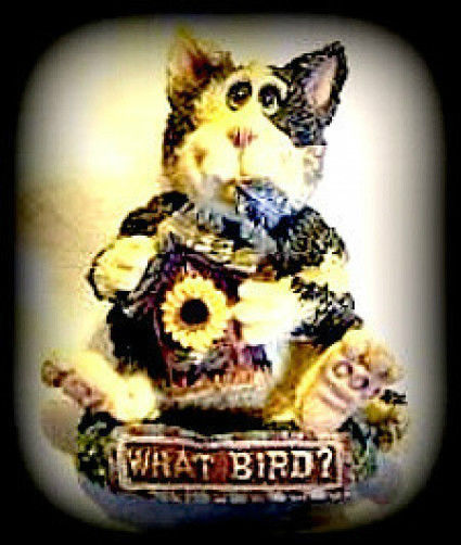 "Boyds FolkWear ""Chester Birdbreath..What Bird?"" Lapel Pin -#26429--New -Retired"