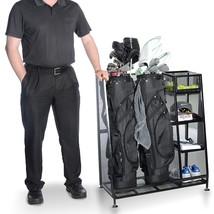 Golf Organizer Storage Rack Equipment  Accessories Durable Soft Foam Edg... - $1.657,09 MXN