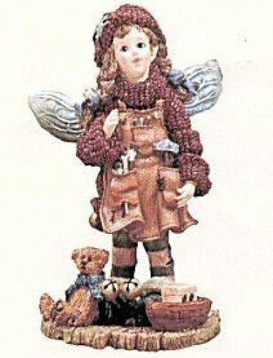 "Boyds Bears *Folkstone ""Fixit..Santa's Fairie"" #3600* Retired* 1996* New"