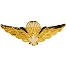 "Canadian Jump Wing Badge Pin Large (2-1/2"")  #2 - $9.99"
