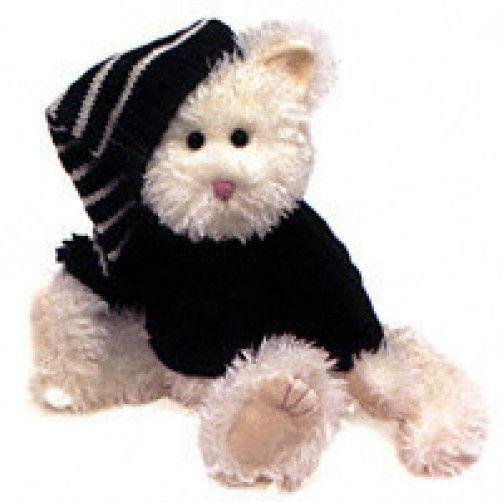 "Boyds Bears ""Taylor Purrski"" * 14"" Plush Cat * #912095  *2000 * NEW* Retired"