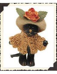 "Boyds Bearwear ""Miss Minnie Partridge"" Wuzzie Cat Pin #81000 New- 2000 -Retired"