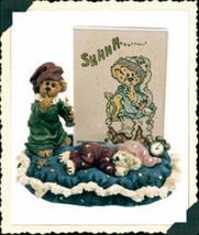 "Boyds Bearstone Frame ""Starlight & Slumber.. Sweet Dreams""  #27310 -1E- NIB - $18.99"