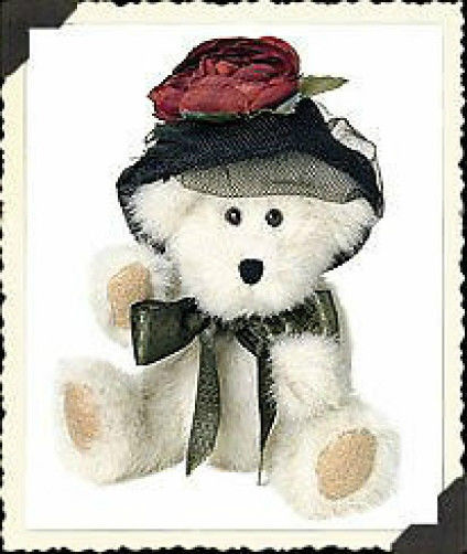 "Boyds Bears ""Wixie Lee Hacket""  #918444 - 6"" Plush Bear- NWT- 2001- Retired"