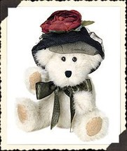 "Boyds Bears ""Wixie Lee Hacket""  #918444 - 6"" Plush Bear- NWT- 2001- Retired image 2"