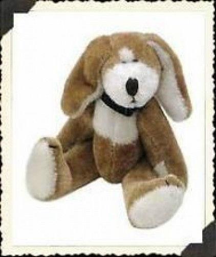 """Boyds Bear """"Toby F. Wuzzie""""  3"""" Plush Wuzzie Dog - #595500-08 -NEW -Retired"""
